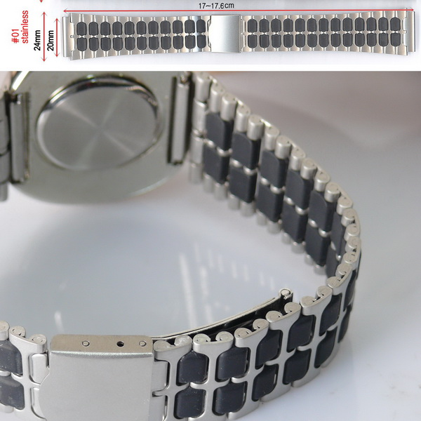 KLPK15139-01시계밴드시계줄버클메탈20mm매탈쇠METAL