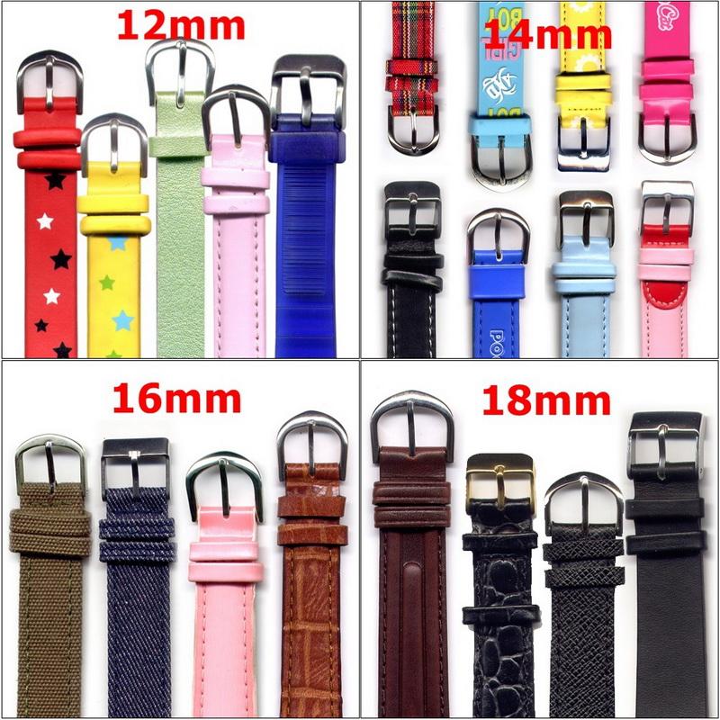 KLPK15012시계가죽PU밴드버클시계연결줄12mm할인판매