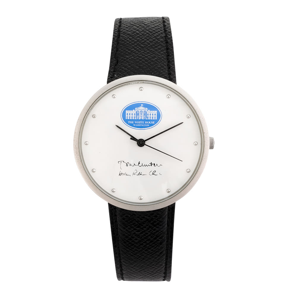 KLPK10001H (100개가격)클린턴손목시계 OEM시계 판촉물 홍보 시계제작 기념품 답례품