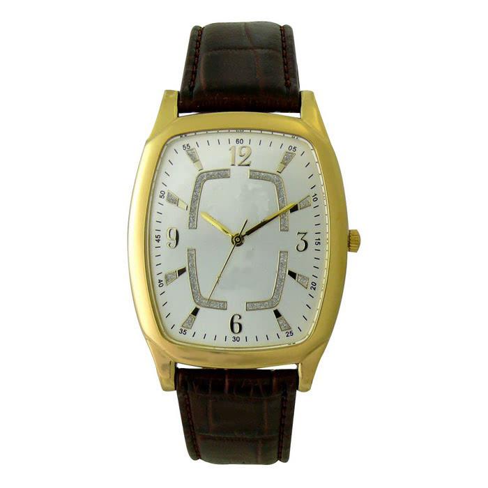KLPK10006H (100개가격)블루하우스가죽손목시계 OEM시계 판촉물 홍보 시계제작 기념품 답례품