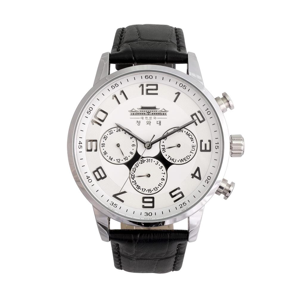 KLPK10009H (100개가격)헤비멀티기능형손목시계 OEM시계 판촉물 홍보 시계제작 기념품 답례품