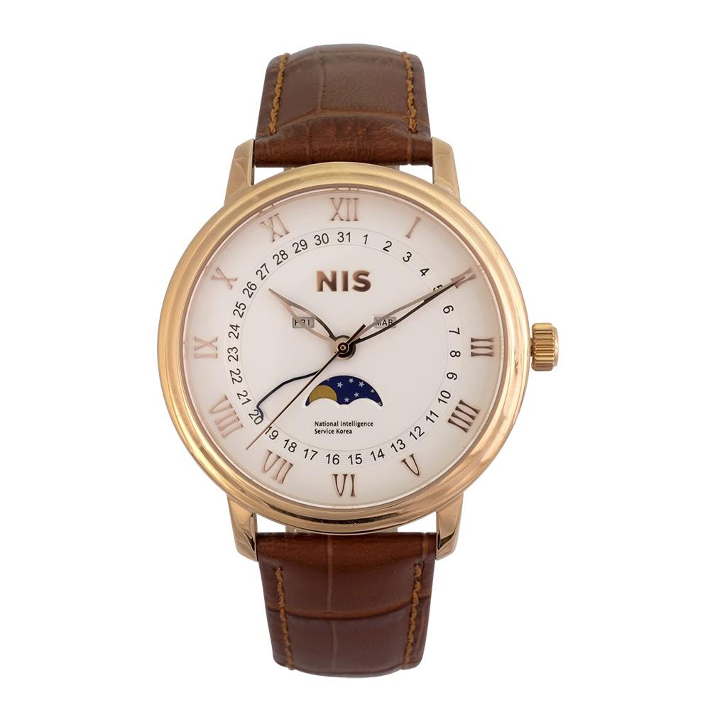 KLPK10015H (100개가격)골드문손목시계 OEM시계 판촉물 홍보 시계제작 기념품 답례품