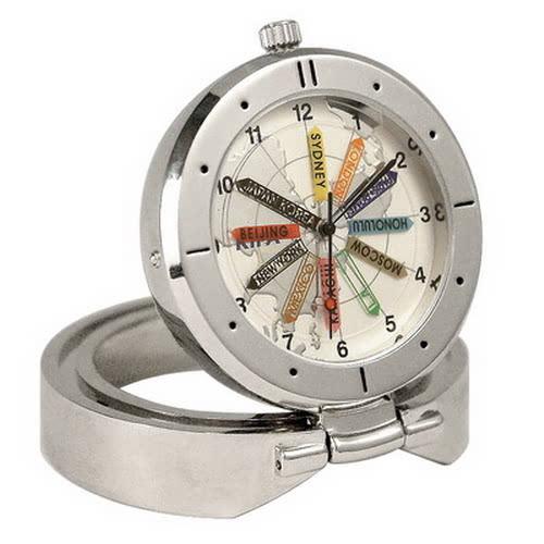 KLPK10702H (100개가격)트레블월드 타임 탁상 시계 OEM시계 판촉물 홍보 시계제작 기념품 답례품