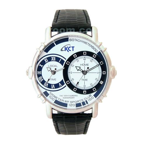 KLPK10704H (100개가격)빅아이투타임 손목시계 OEM시계 판촉물 홍보 시계제작 기념품 답례품
