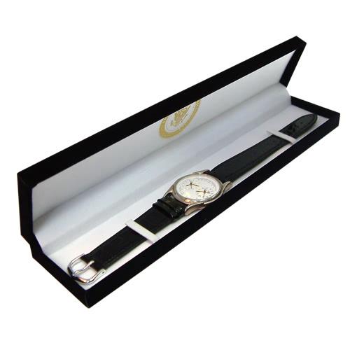 KLPK10951H (100개가격)우단 장형박스 시계케이스 시계보관함 OEM시계 판촉물 홍보 제작
