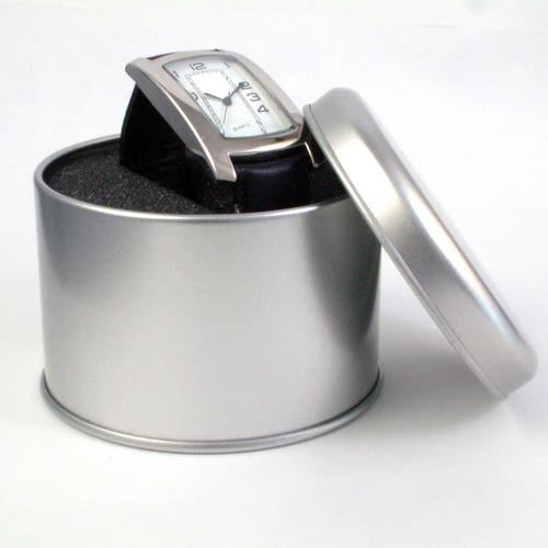 KLPK10954H (100개가격)철판 원형(大) 시계케이스 시계보관함 OEM시계 판촉물 홍보 제작