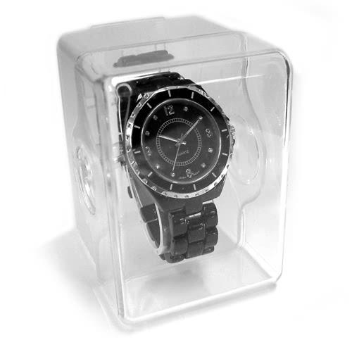 KLPK10958H (100개가격)플라스틱 손목시계 전용 케이스 시계케이스 시계보관함 OEM시계 판촉물 홍보 제작
