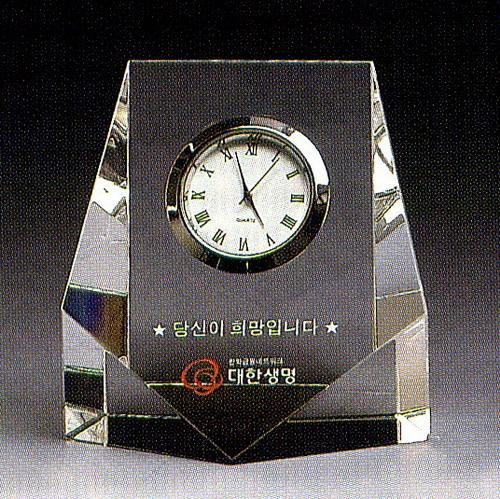 KLPK12029 인테리어 탁상시계 Momo crystal(모모크리스탈) 미니클락