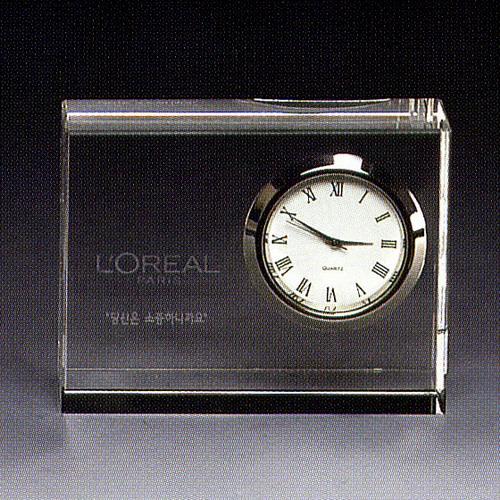 KLPK12033 인테리어 탁상시계 Momo crystal(모모크리스탈) 미니클락