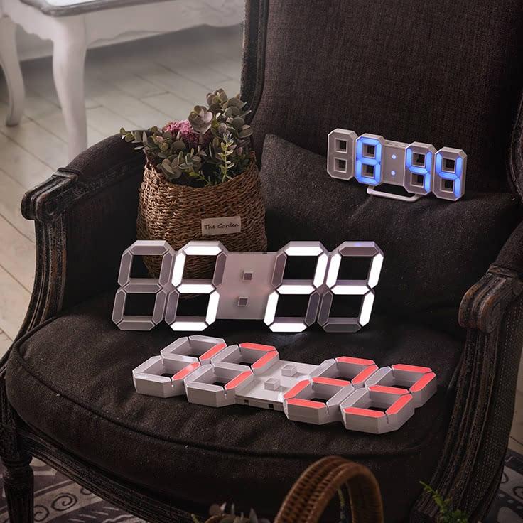 KLPK14016 루나리스 레인보우 3D LED 벽시계 38cm 사무실 벽시계 OEM 판촉물 홍보 시계제작 기념품