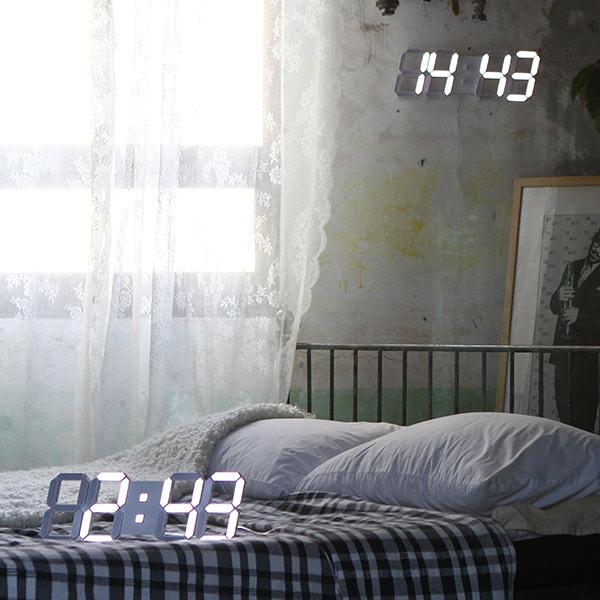 KLPK14019 국산 루나리스3D LED 벽시계 38cm 사무실 벽시계 OEM 판촉물 홍보 시계제작 기념품
