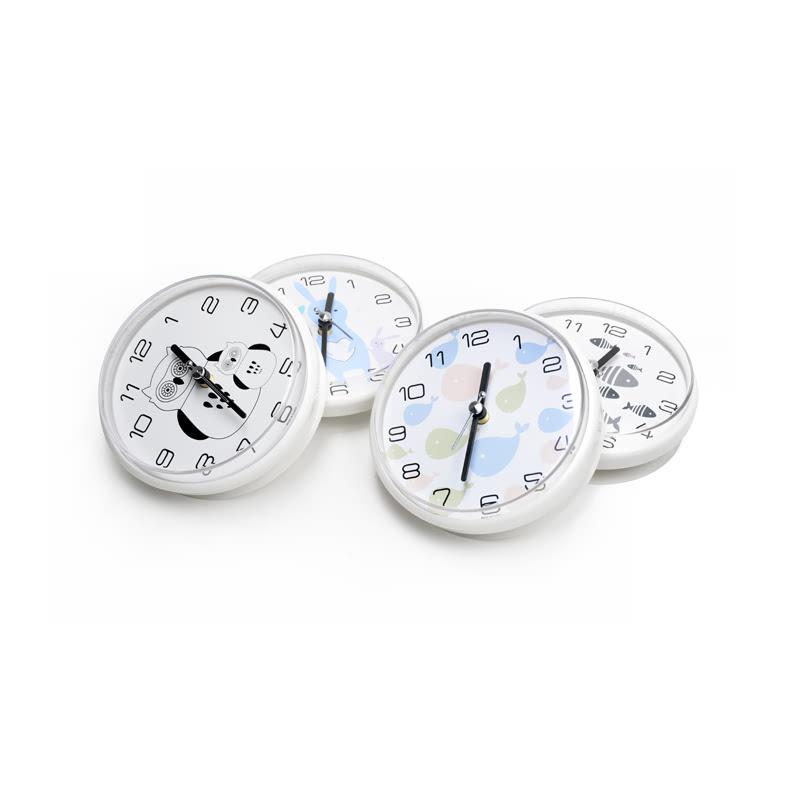KLPK14030 디자인 욕실 흡착 방수시계 사무실 벽시계 OEM 판촉물 홍보 시계제작 기념품