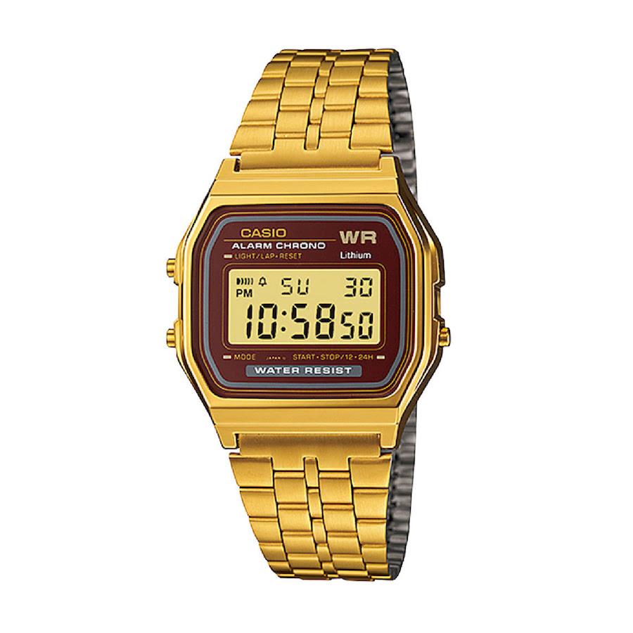 KLPK15482[카시오시계 CASIO] A159WGEA-5DF (A159WGEA-5D) 디지털 Alarm Chronograph 33mm D2