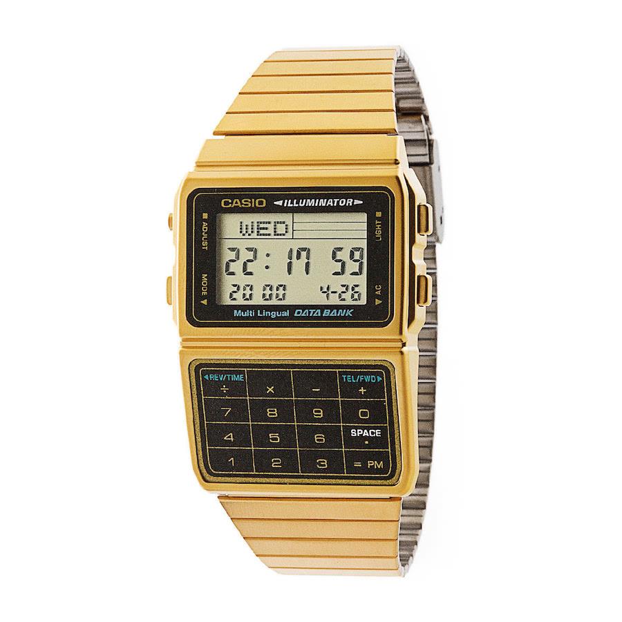 KLPK15497[카시오시계 CASIO] DBC-611G-1DF (DBC-611G-1D) 빈티지디지털 46.5x33mm / 곽정은,이승기 착용 시계 CF2
