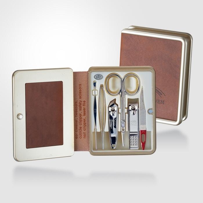 KLPK20008(100개 단가) TS-5300C 쓰리세븐6종세트 777 손톱깎이세트 미용세트 판촉물 케이엘피코리아