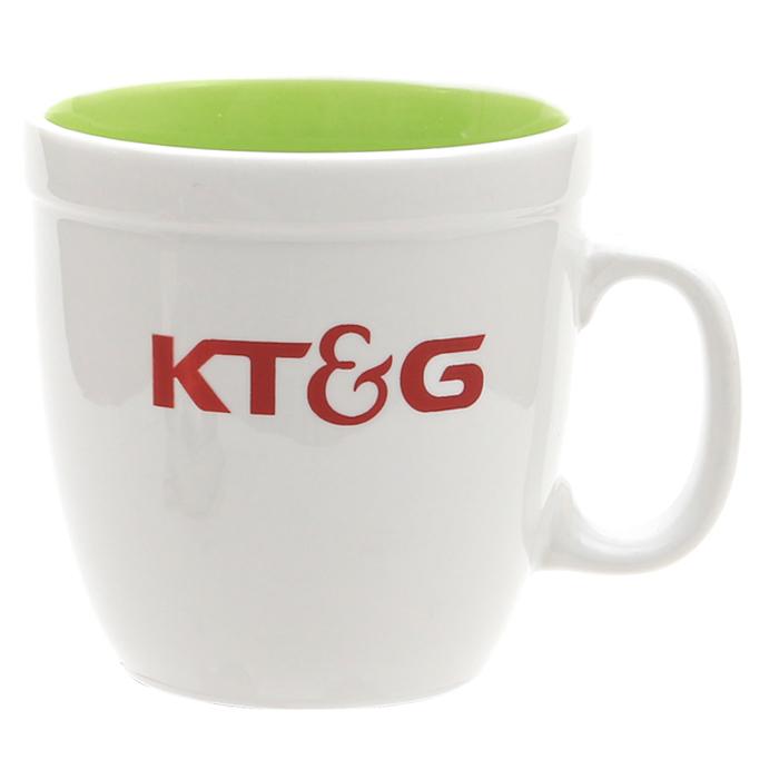 KLPK21006(100개 단가) 에코인칼라 그린 머그컵 텀블러 판촉 전용 상품 케이엘피코리아
