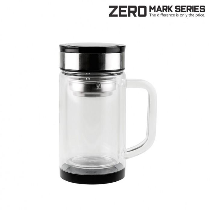 KLPK21108(100개 단가) [제로마크]이중유리티컵 [330ml] 머그컵 텀블러 판촉 전용 상품 케이엘피코리아