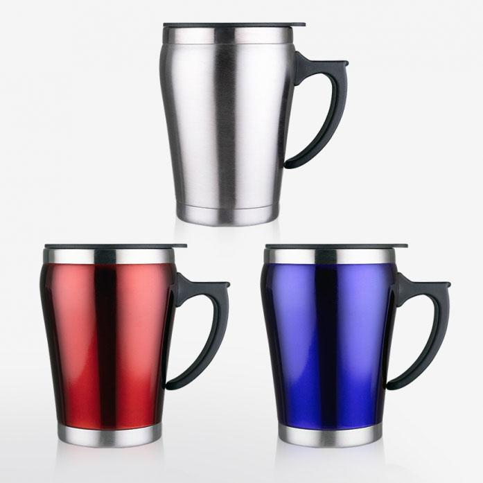 KLPK21115(100개 단가) 하모니컵-적색 청색 [350ml] 머그컵 텀블러 판촉 전용 상품 케이엘피코리아