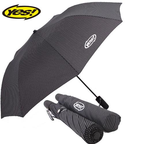 KLPK22007(100개 단가) 2단자동스트라이프 우산제작 우산도매 판촉물 케이엘피코리아