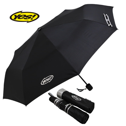 KLPK22009(100개 단가) 3단수동폴리실버 우산제작 우산도매 판촉물 케이엘피코리아