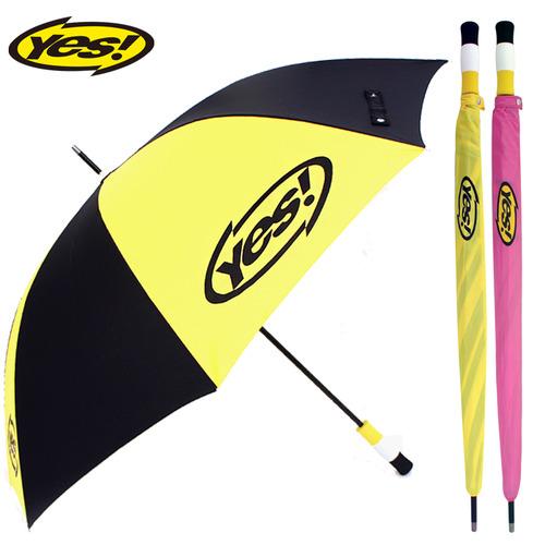 KLPK22015(100개 단가) 75수동화이바(검/노) 우산제작 우산도매 판촉물 케이엘피코리아