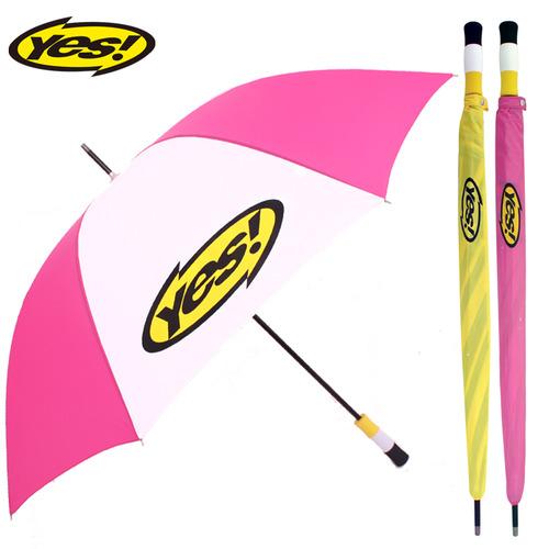 KLPK22016(100개 단가) 75수동화이바(흰/핑) 우산제작 우산도매 판촉물 케이엘피코리아