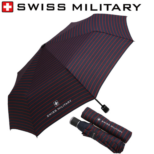 KLPK22048(100개 단가) 3단수동스트라이프 우산제작 우산도매 판촉물 케이엘피코리아