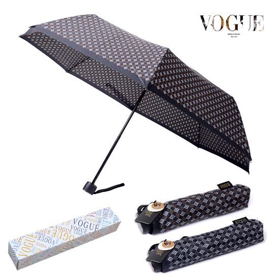 KLPK22208(100개 단가) 보그 3단 델타나염 우산 우산제작 우산도매 판촉물 케이엘피코리아