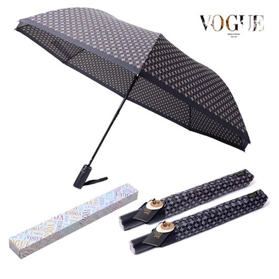 KLPK22209(100개 단가) 보그 2단 델타나염 우산 우산제작 우산도매 판촉물 케이엘피코리아