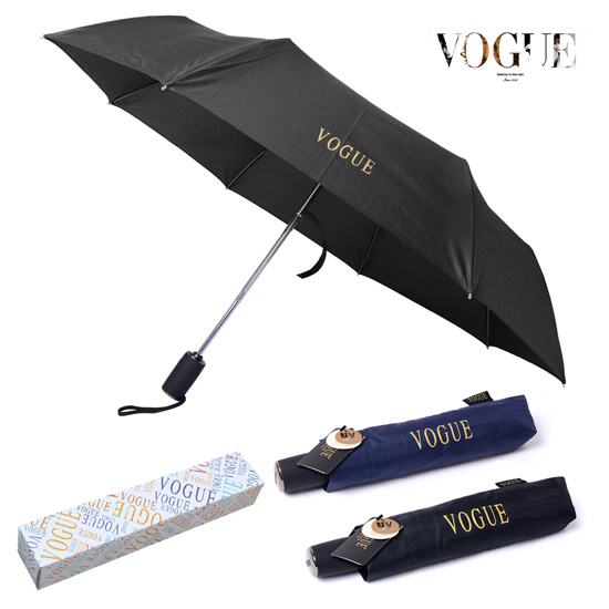 KLPK22212(100개 단가) 보그 3단 에멀솔리드 완전자동 우산 우산제작 우산도매 판촉물 케이엘피코리아