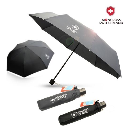 KLPK22229(100개 단가) 몽크로스 3단 솔리드 수동 우산 우산제작 우산도매 판촉물 케이엘피코리아