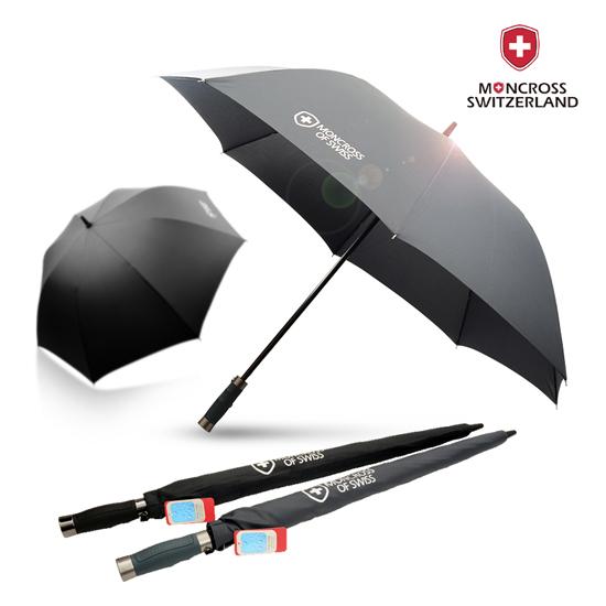KLPK22238(100개 단가) 몽크로스 70 화이버 솔리드 장우산 우산제작 우산도매 판촉물 케이엘피코리아