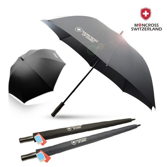 KLPK22239(100개 단가) 몽크로스 75 무하직기 수동 듀스포 골프 우산 우산제작 우산도매 판촉물 케이엘피코리아