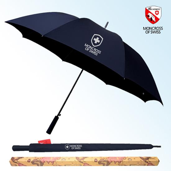 KLPK22241(100개 단가) 몽크로스 75 카본 자동 골프우산(초경량) 우산제작 우산도매 판촉물 케이엘피코리아