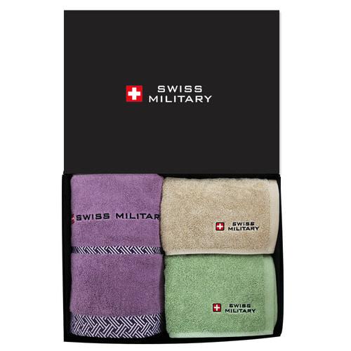 KLPK23011(100개 단가) 스위스밀리터리 바스타올1P +  180g타올 2P(멀티소)  호텔수건 도매 제작 판촉물 케이엘피코리아