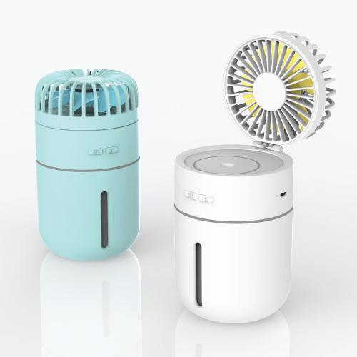 KLPK28006 (100개 단가)듀얼 선풍기 + 가습기 [휴대용/탁상용 겸용]