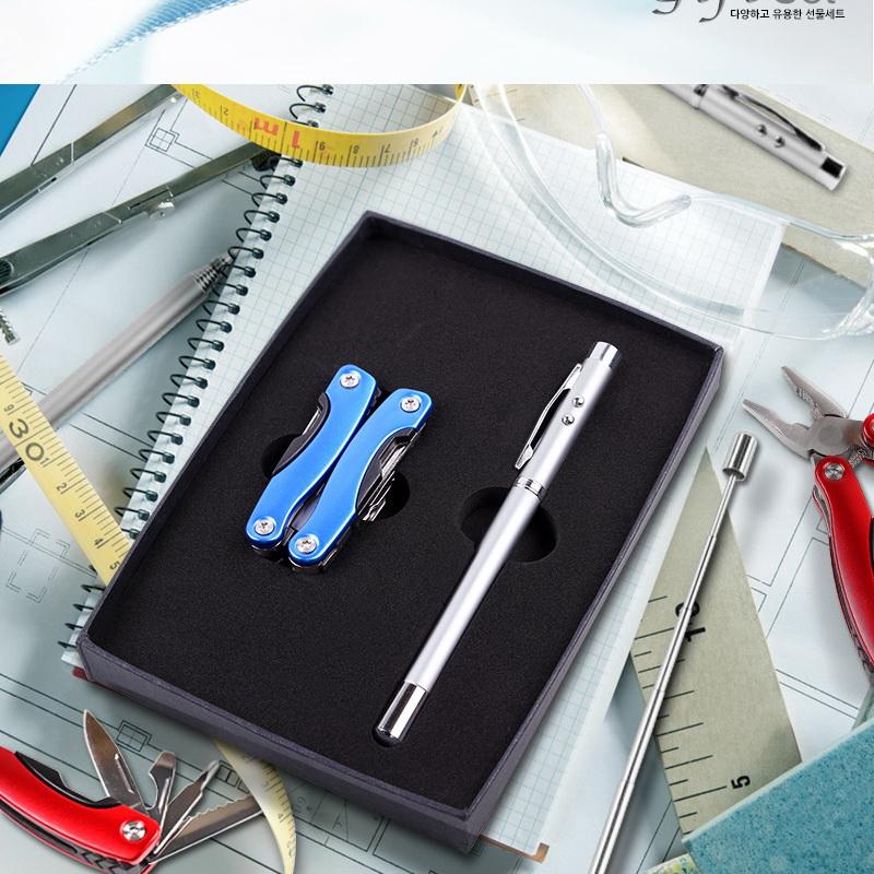 KLPK29018(100개 단가) PM-16 (멀티툴MT200+레이져안테나펜) 개업선물 판촉물 선물용품 케이엘피코리아