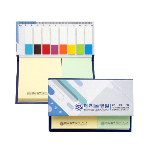 KLPK35015(1000개 단가) 하드커버 2단자 메모판촉물 케이엘피코리아