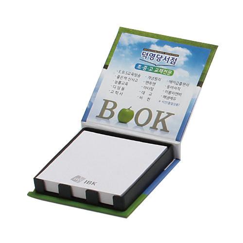 KLPK35020(1000개 단가) 양장 떡메모함(소) 100매판촉물 케이엘피코리아