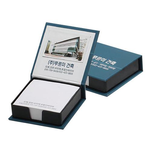 KLPK35021(1000개 단가) 양장 떡메모함(소) 200매판촉물 케이엘피코리아