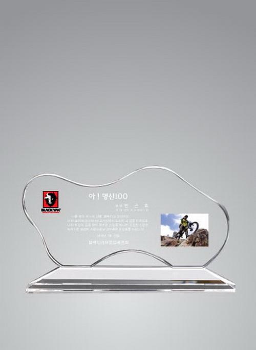 KLPK40018 크리스탈상패 66-01 265X160X50 상패 트로피 판촉물 제작 케이엘피코리아