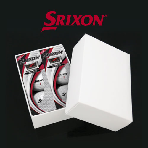 KLPK60014 (100개 단가)던롭스릭슨 Z-STAR XV 골프공 6구세트(칼라인쇄+포장비별도)