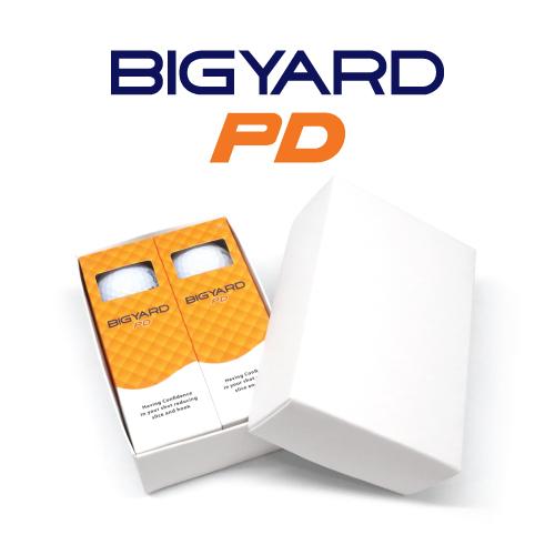 KLPK60035 (100개 단가)빅야드 PD(2PC) 골프공 6구세트(칼라인쇄+포장비별도)