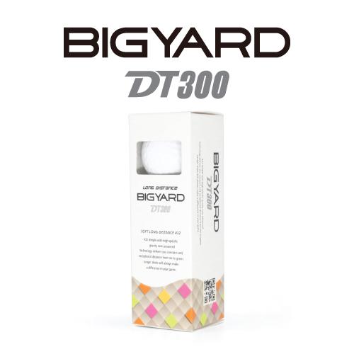 KLPK60040 (100개 단가)빅야드 DT300(3PC) 골프공 3구세트(칼라인쇄+포장비별도)