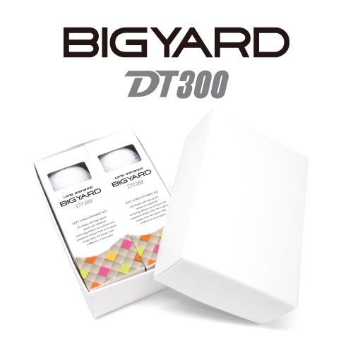 KLPK60041 (100개 단가)빅야드 DT300(3PC) 골프공 6구세트(칼라인쇄+포장비별도)